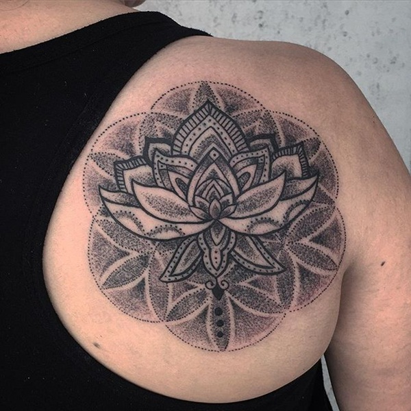 Insanely Deep and Positive lotus mandala Tattoo Arts (13)