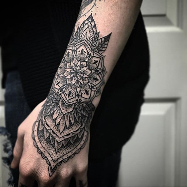 Insanely Deep and Positive lotus mandala Tattoo Arts (16)