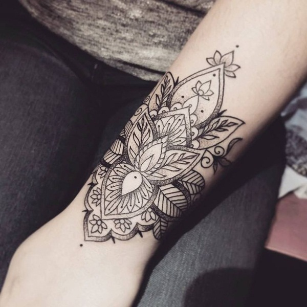 Insanely Deep and Positive lotus mandala Tattoo Arts (29)