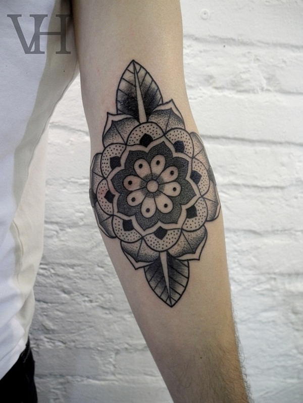 Insanely Deep and Positive lotus mandala Tattoo Arts (46)