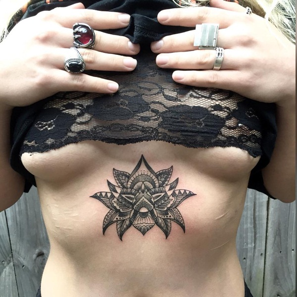 Insanely Deep and Positive lotus mandala Tattoo Arts (55)