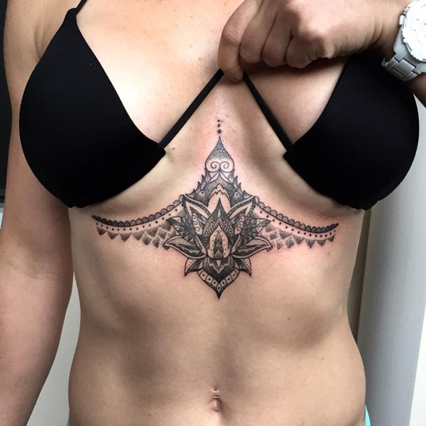 Insanely Deep and Positive lotus mandala Tattoo Arts (56)