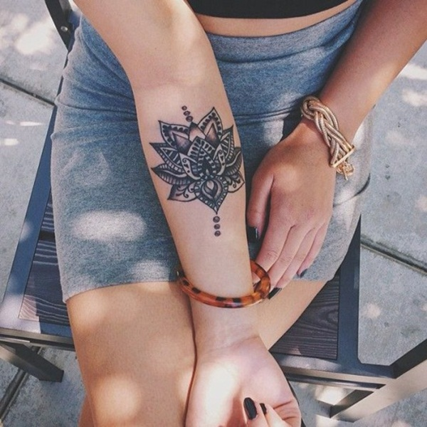 Insanely Deep and Positive lotus mandala Tattoo Arts (59)