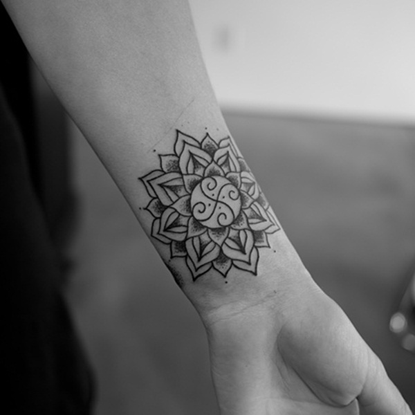 Insanely Deep and Positive lotus mandala Tattoo Arts (69)