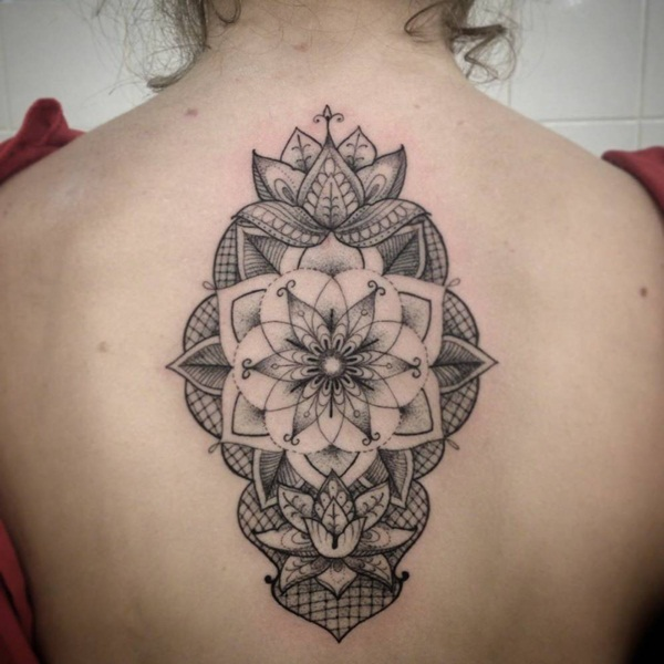 Insanely Deep and Positive lotus mandala Tattoo Arts (82)