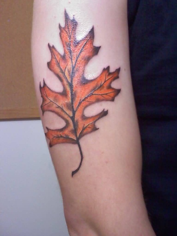 Unforgettable Leaf tattoo Designs (10)