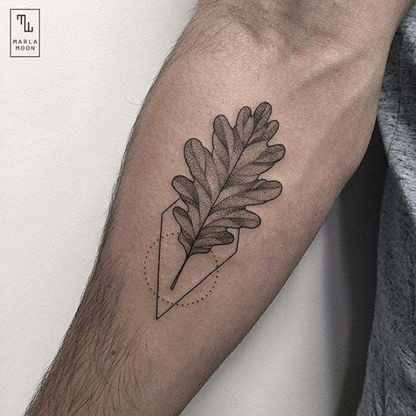 Unforgettable Leaf tattoo Designs (13)