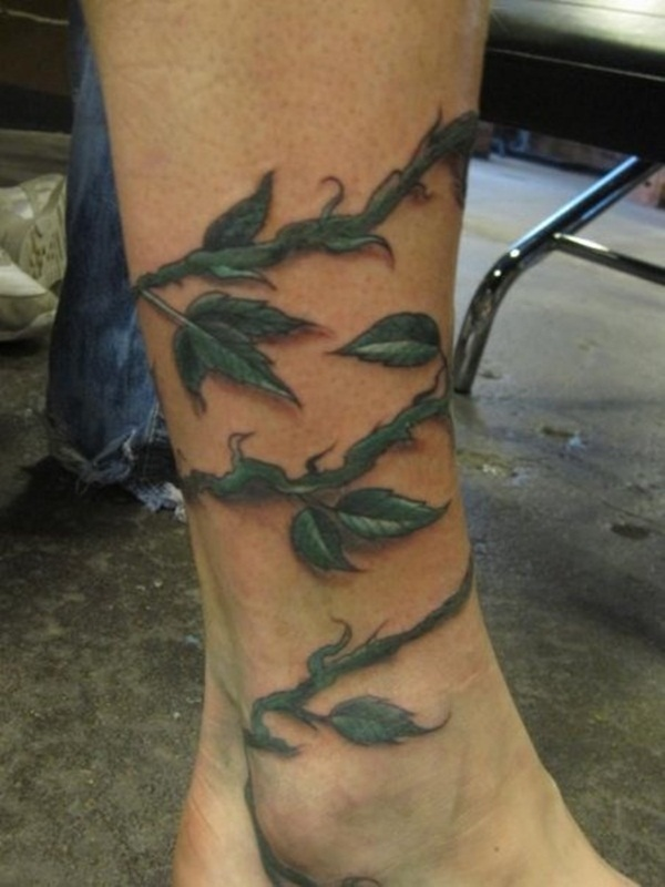 Unforgettable Leaf tattoo Designs (2)