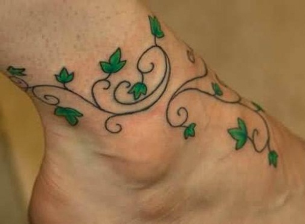Unforgettable Leaf tattoo Designs (28)