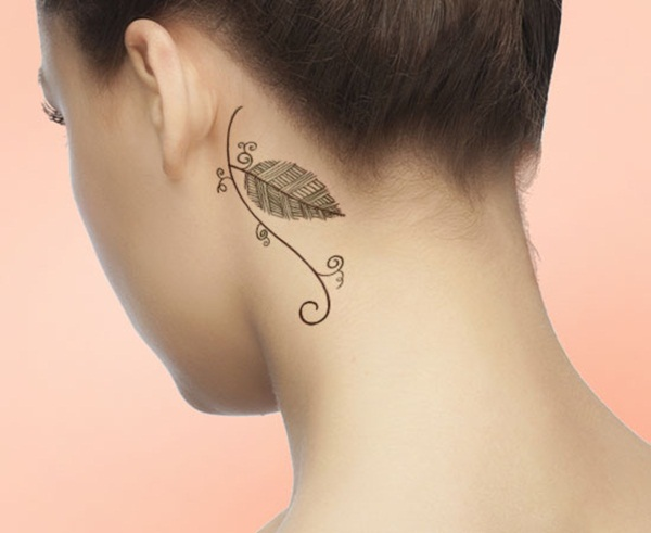 Unforgettable Leaf tattoo Designs (56)